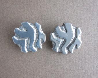 Lanvin vintage clip earrings