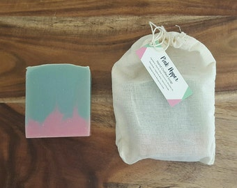Pink Pepper Handmade Soap - Cold Process Soap - Scented Soap - Vegan Soap