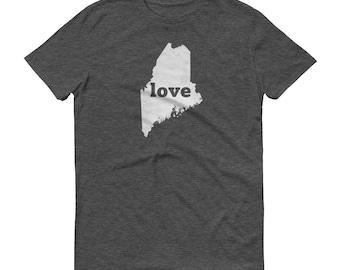 Maine Shirt, Maine TShirt, Maine Love Shirt, Maine Tee, Maine State Pride, Maine Gifts, Maine State, Maine Map, Shirt, TShirt, Tee, ME