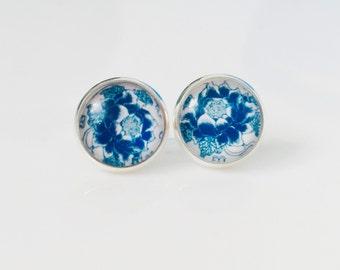 The 'Marissa' Glass Earring Studs