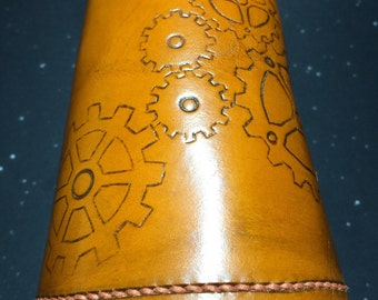 Steam Punk Leather Arm Cuff