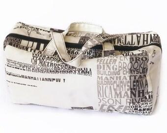 Large  New York wash bag.