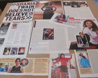 SHANIA TWAIN   #5 CLIPPINGS  #0511