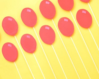10 x Balloon Cake Toppers - Available in multiple colours - Tops of Melbourne