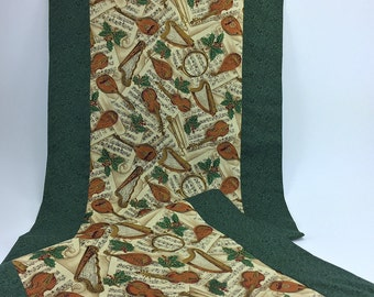 ON SALE: Medieval Music Table Runner *** 20% OFF ***