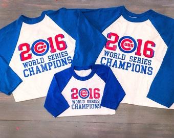 Adult/Youth/Toddler Chicago Cubs Shirt