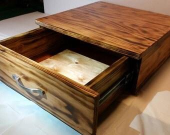Pine Storage Shelf 18x18x6