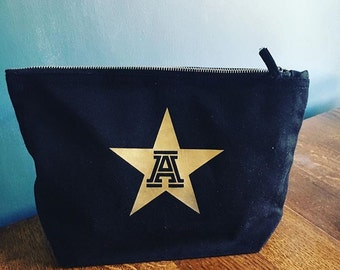 Personalised Initial in a Star Small Make Up Bag