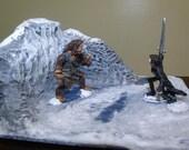hand sculpted underworld fantasy diorama