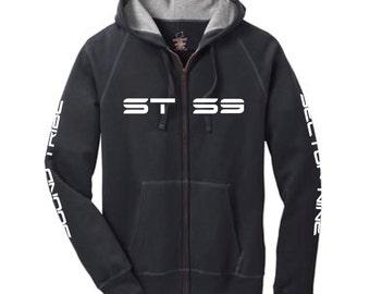 STS9 4 print zip up hoodie
