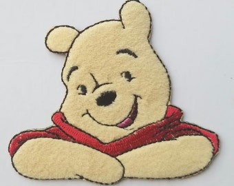 Disney Winnie the Pooh Iron on Patch - Winnie the Pooh Applique - Ready to Ship