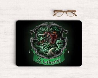 Houses Slytherin Sticker Skin Vinyl Decal for MacBook Laptop K0618