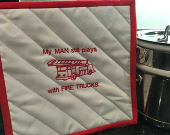 Firemen Hot Pad