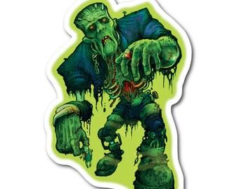Zombie Frankenstein Vinyl Sticker
