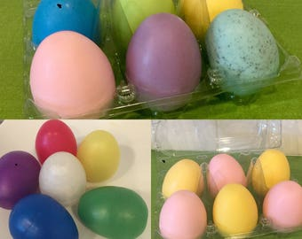 Easter Egg Soaps (with or without toys inside)