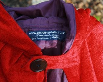 Child's Scarlet Cloak