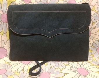 Reva Blue SUEDE bag