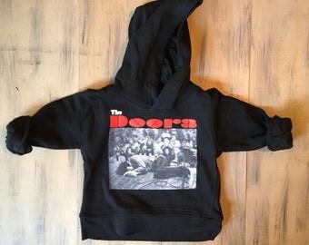 The Door Hoodie Sweatshirt , Rock n Roll, rocker, teesvibes 2T or 4T