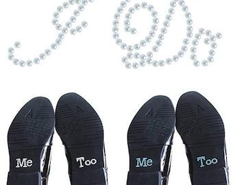 Wedding shoe decoration