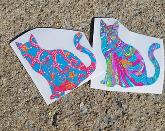 Lilly Inspired Cat Vinyl Decal