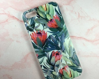 iPhone 5/5s/5se or 6/6s. Floral, flowers, botanical iPhone hard case cover