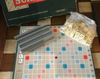 1970s Spears Scrabble Vintage
