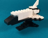 Microscale Space Shuttle with Base