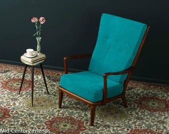 50s armchair, armchairs, sofa, 60s, vintage (703028)