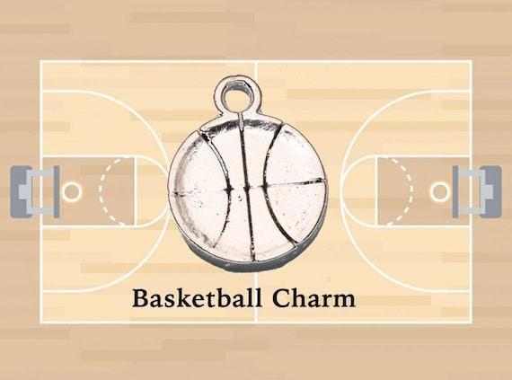 Basketball Charms, 4 pcs +Discounts & FREE Shipping*