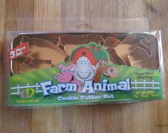 Farm Animal Cookie Cutter Set