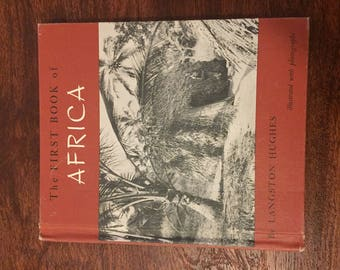Antique Book: The First Book of Africa