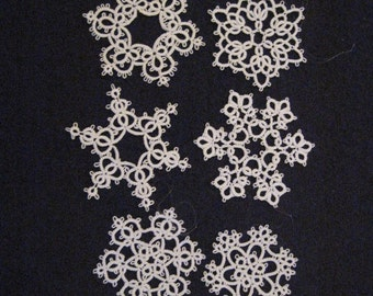 Snowflakes set of 6