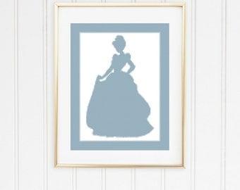 BOGO FREE! Cinderella cross chart/princess cross stitch/princess cross chart/disney cross chart/Cinderella cross stitch/ #01-012