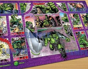 Planet Hulk - Dice Masters Playmat