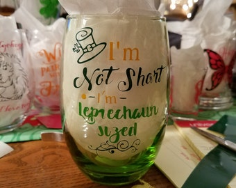 I'm not short I'm leprechaun sized