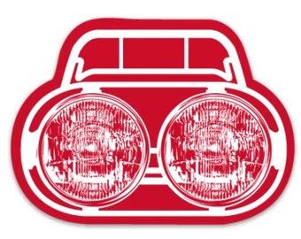 Honda Ruckus Headlight Sticker