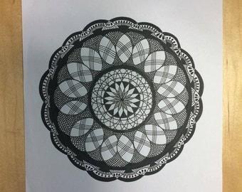A4 Mandala Print #2