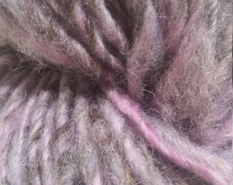 Single-Ply Worsted Handspun Wool Yarn (Lot 83)