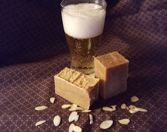 Pale Ale & Almond Beer Soap