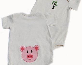 Unique pig baby clothes related items   Etsy