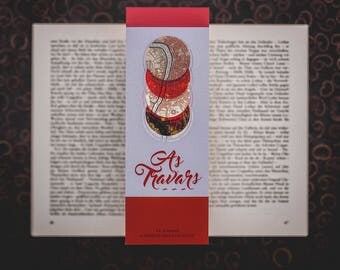 As Travars - A Darker Shade of Magic inspired Bookmark