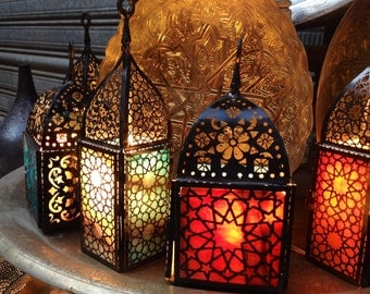 Arabic style candle holder *can also work as a lamp