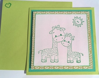 "Map child ""small green giraffes"""