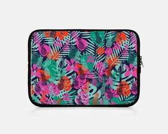 Tropical iPad Sleeve, Pineapple iPad Sleeve, iPad Mini Sleeve, Pink iPad Sleeve, Kindle Sleeve, iPad Mini Cover, iPad Clutch, Tablet Sleeve,
