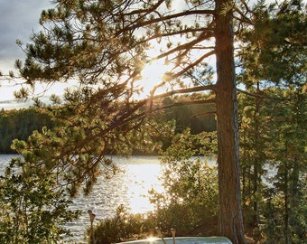 Algonquin Park, Ontario, Northwoods, Wilderness, Camping, Canoe, Lake, Photography, Wall Art