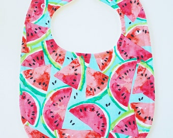 Drool Baby Drool Super Absorbent Watermelon Bib (Snaps)