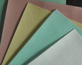10 sheets of edible wafer rice paper. coloured A4
