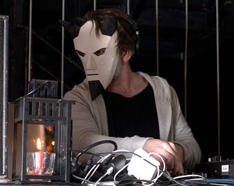 Devil Mask | Paper Mask | Papercraft 3D DIY kit