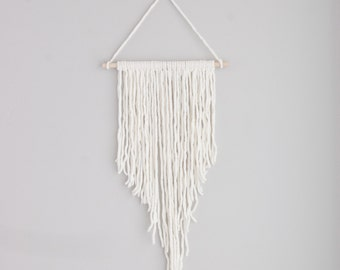 Yarn wall hanging | nursery decor | wall decor | boho wall hanging