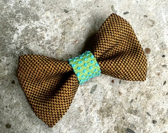 YUMI bow tie-Brown | Green